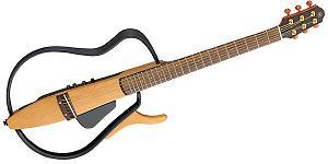 ▲YAMAHA SLG110S サイレント・ギター